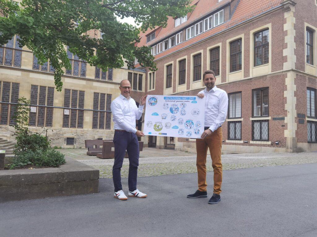 Münster ist jetzt Smart-City-Modellkommune