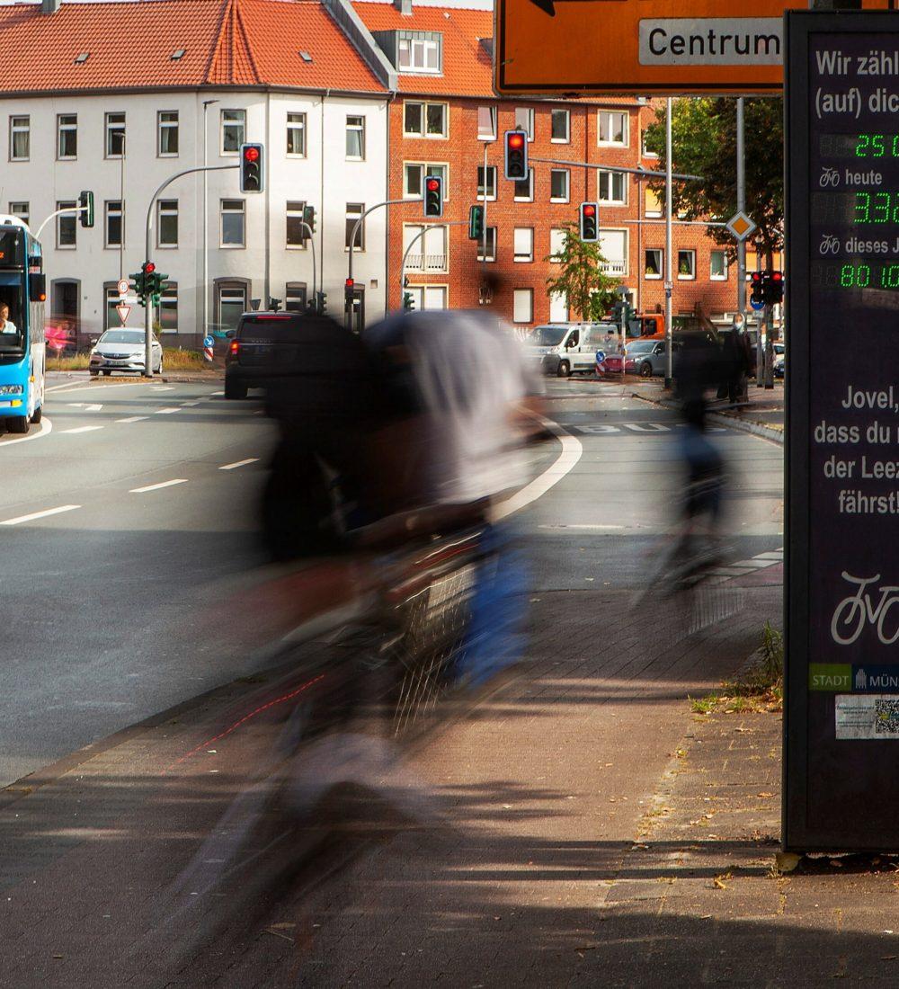 Fahrradzählstation Neutor SCMS_MK
